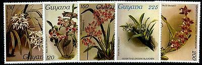 GUYANA Sc.# 1052//1123 Orchids NH Stamps
