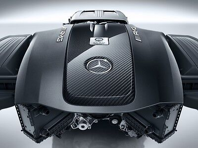 Mercedes AMG Carbon Real Carbon Engine cover for AMG GT GT GT - S