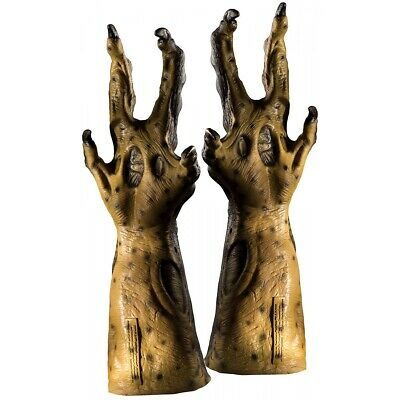 Hybrid Predator-Alien Costume Hands Adult Mens AvP vs Gloves Halloween Acsry