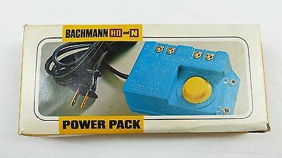 Bachmann HO and N Gauge 6605 Power Pack in Original Box Very Good Used Condition