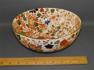 Royal Cauldon Pottery England Bittersweet  Centerpiece Serving Bowl