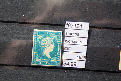 Stamps Old Spain Mint Mh* 1856 (F97124)