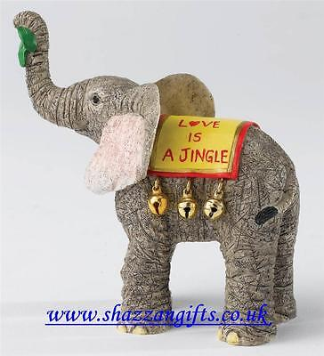 Tuskers Love Is ....…...  A Jingle.Height9.5cmRRP £16.00Newin Box