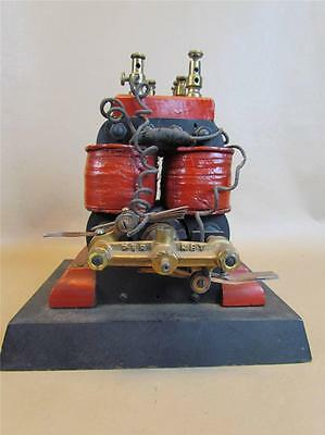 *very Rare* Antique Perret Museum Quality Bipolar Electric Motor Engine