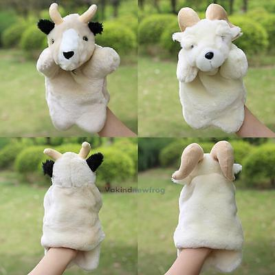 Lovely Sheep Hand Glove Puppet Soft Plush Puppets Kid Children Toy Gift Funny
