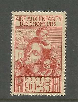France ~ 1939 Children Of The Unemployed Fund (Mint Mnh)