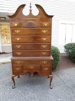 *GORGEOUS& CLEAN * signed PENNSYLVANIA HOUSE 2 PIECE HIGHBOY