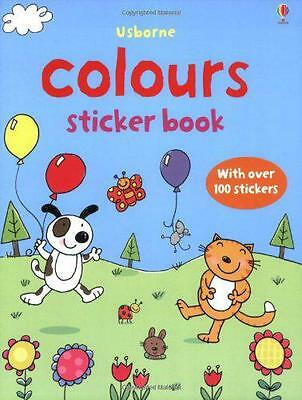Colours (Usborne First Sticker Books) by  | Paperback Book | 9780746099131 | NEW