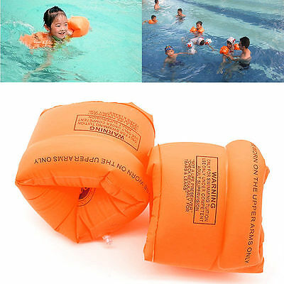 New One Pair Swimming Band Arm Ring Floating Inflatable Sleeves For Adult Child
