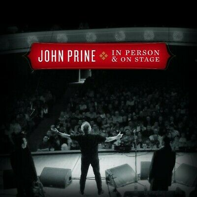 John Prine - In Person & on Stage [New CD] Digipack Packaging