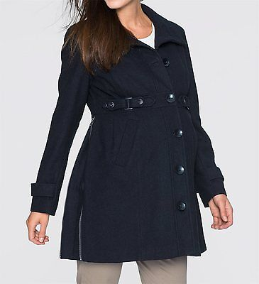 Ladies Maternity fashion Coat, 190999 in black