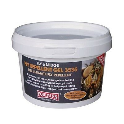 EQUIMINS FLY & MIDGE REPELLENT EXTRA STRENGTH GEL summer sweet itch mosquitoes