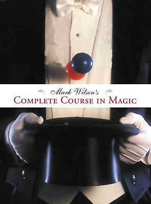 Mark Wilson's Complete Course in Magic by Mark Wilson (English) Paperback Book F