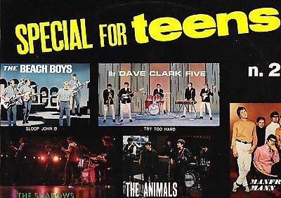 NOMADI SHADOWS ANIMALS ROYALS BEACH BOYS MANFRED MAN Special for teens N.2 NUOVO