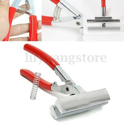 Metal Red Canvas PLIER Clamp with Spring for Stretching Professional Canvas Tool