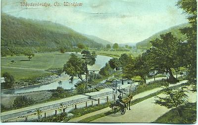 Station Woodenbridge Co. Wicklow Ireland 1908 Valentine's postcard