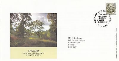 (34327) GB England FDC 40p Pictorial - London 11 May 2004