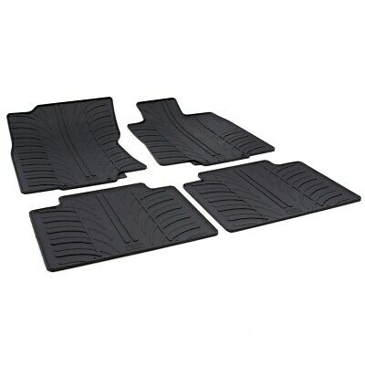 Nissan X-Trail (T32) 2014 - 2017 Tailored Fit Rubber Moulded Car Floor Mats Set