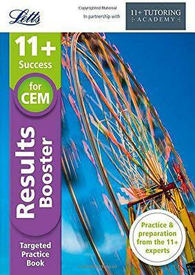 11+ Results Booster: for the CEM tests (Letts 11+ Success), The 11 Plus Tutoring