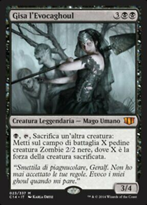 Mtg Ghoulcaller Gisa Exc - Gisa L'evocaghoul - Cmd2014 - Magic