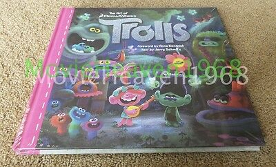 The Art of Trolls by Jerry Schmitz Hardcover Book (English) BRAND NEW