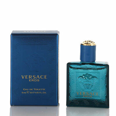 Versace Eros Cologne Mini by Gianni Versace 0.17 / .17 oz / 5 ml EDT New In Box