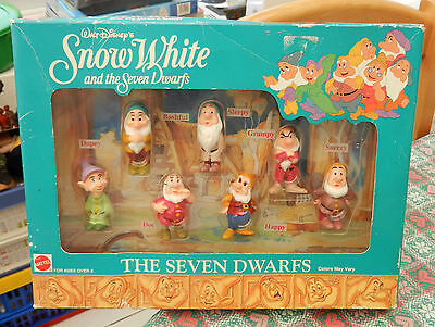 Disney Snow White & Seven Dwarfs Boxed Set of The Seven Dwarfs