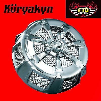 Kuryakyn Chrome Alley Cat Air Cleaner Cover '99-'16 Touring 9439