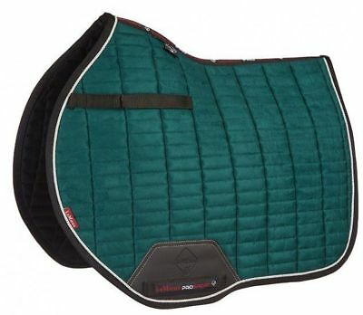 LEMIEUX PROSPORT SUEDE EUROJUMP SQUARE GREEN horse show jumping pad