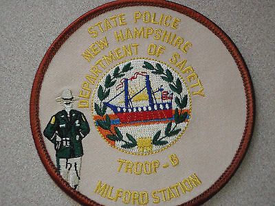 New Hampshire State Police Troop B Milford     Station