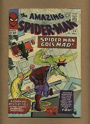 Amazing Spider-Man 24 (Pretty-Nice!) Mysterio appearance; Ditko; 1965 (c#12088)