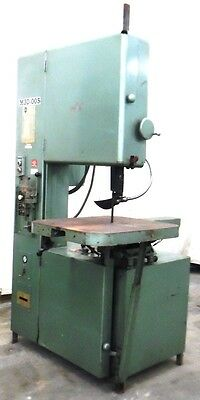 "Grob Inc, Band Saw, 4V-24, M30-005, 2441 Serial, Year 1985, 28"" X 24"" Table"