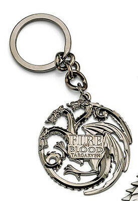 IQGK-GOT-TRG: Game of Thrones Crest Keychains House Targaryen