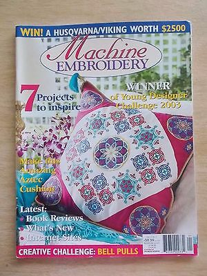 Machine Embroidery Vol 10 #1~Stained Glass~Aztec~Jacket~Baby Mobile~Bush Blossom