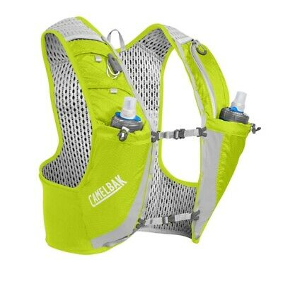 Camelbak Ultra Pro Trail Running Hydration Vest .5L - Quick Stow -Lime / Silver