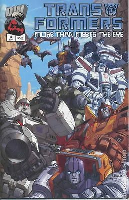 Transformers More Than Meets the Eye Official Guide (2003) #3 FN 6.0