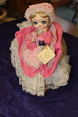 Bradley Big Eye 1977 Doll The Storybook World of Bradley #439 Little Bo Peep12""