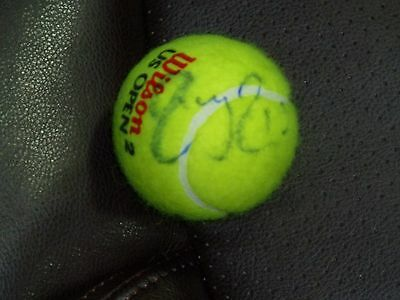 Roger Federer Autographed Us Open Tennis Ball