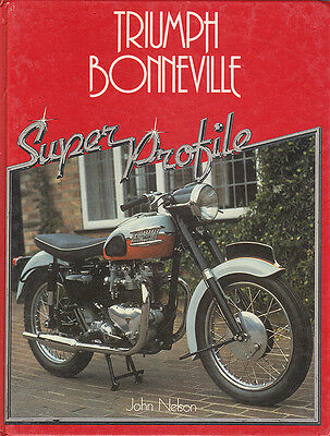 Triumph Bonneville Motorcycle Profile Book Manual T120 T120R Tt Special T140