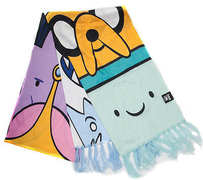 Adventure Time Schal Jake Finn & Beemo Scarf BMO