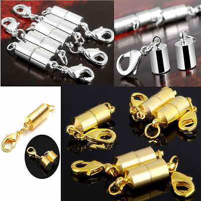 Plated Magnetic Magnet Clasps Jewelry Necklace Findings 6mm Fashion