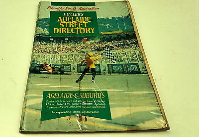 1990s Fullers ADELAIDE STREET DIRECTORY -  F1 GP COVER