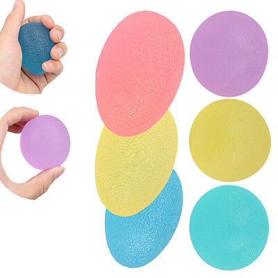 3pcs Gel Ball Hand Finger Exercise Stress Relief Mood Autism Squeeze Therapy Toy