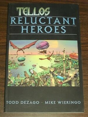 Tellos Reluctant Heroes Vol 1 Todd Dezago (Paperback, 2001)< 9781582401867