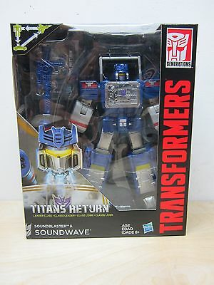 Transformers Combiner Wars Leader Class Titans Return Soundwave New Sealed Box