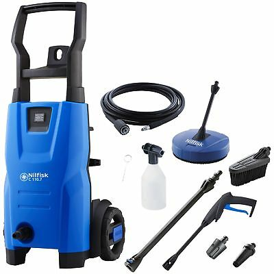 Nilfisk Compact 110 Home & Car Pressure Washer - 1400W - 110 Bar. From Argos