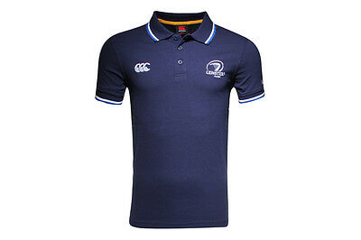 Canterbury Leinster 2015/16 Tipped Rugby Polo Shirt