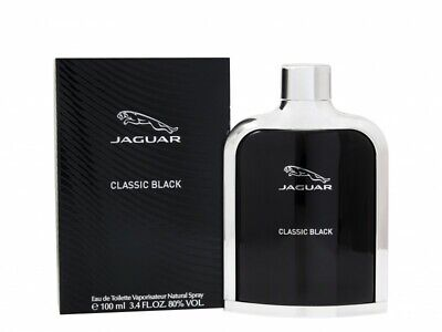 Jaguar Classic Black Eau De Toilette 100Ml Spray - Men's For Him. New
