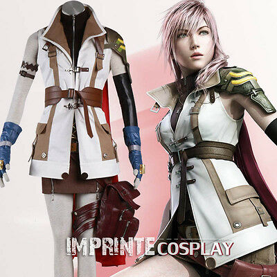 Final Fantasy XIII 13 Blitz Deluxe Cosplay Kostüm Vollständiges Set