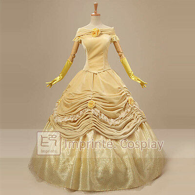 Nouveau Style Princesse Belle Robe Luxe Adulte Costume Cosplay